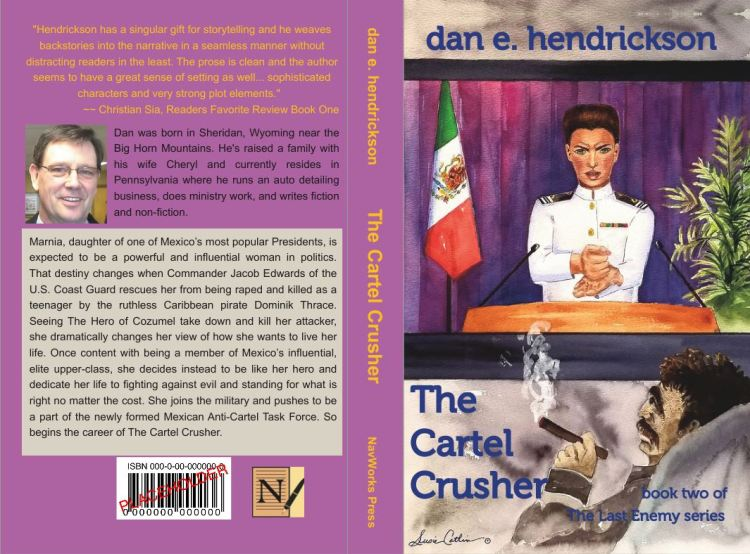 The Cartel Crusher cover__ spread